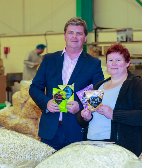 Gourmet Popcorn Manufacturer quadruples turnover following £150,000 investment from the North East Angel Fund.
